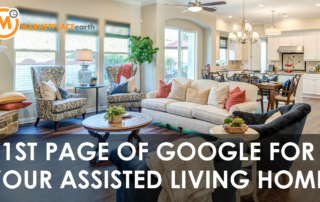 assisted living marketing - first page of google