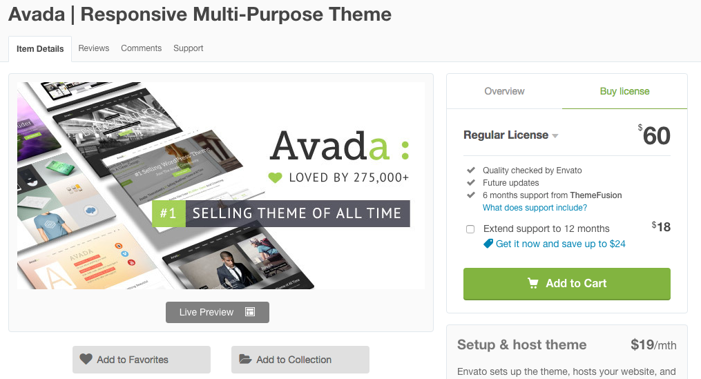 how to build a website for your small business - avada theme wordpress