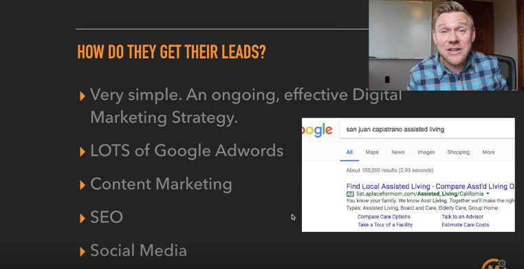 how do placing agencies get their leads - digital marketing strategy