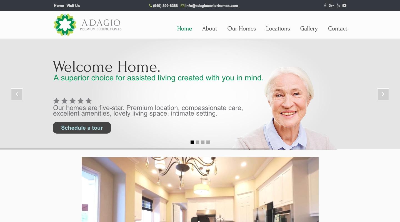 adagioseniorhomes.com