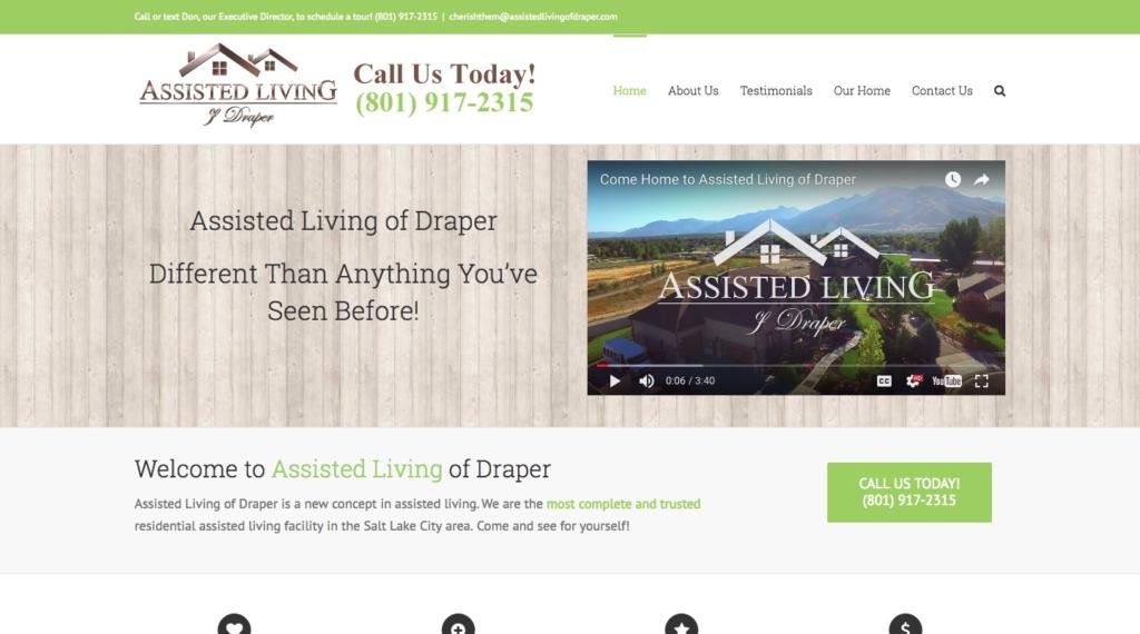 assistedlivingofdraper.com