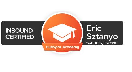 inbound marketing certified - hupspot academy